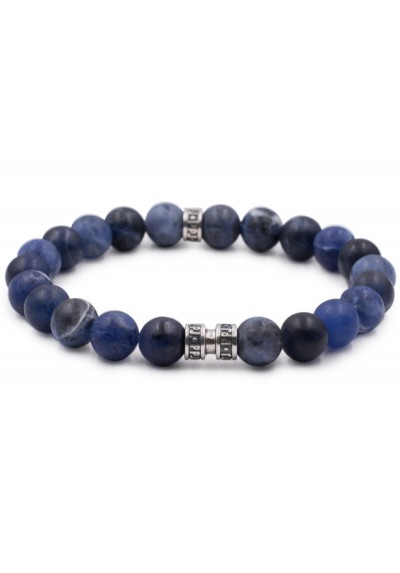bracelet l homme sodalite 8mm pierre paul jacques man itself sp cialiste des produits de. Black Bedroom Furniture Sets. Home Design Ideas