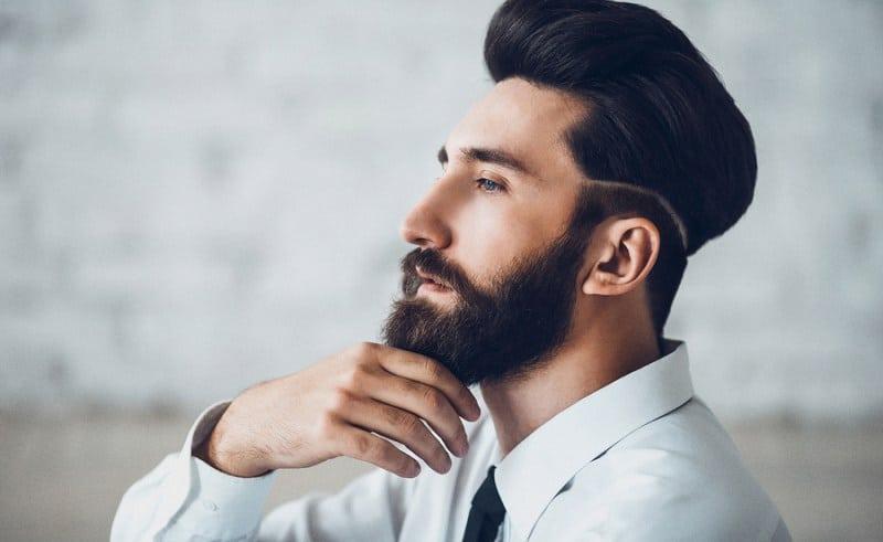 Une belle barbe entretenu et taillée