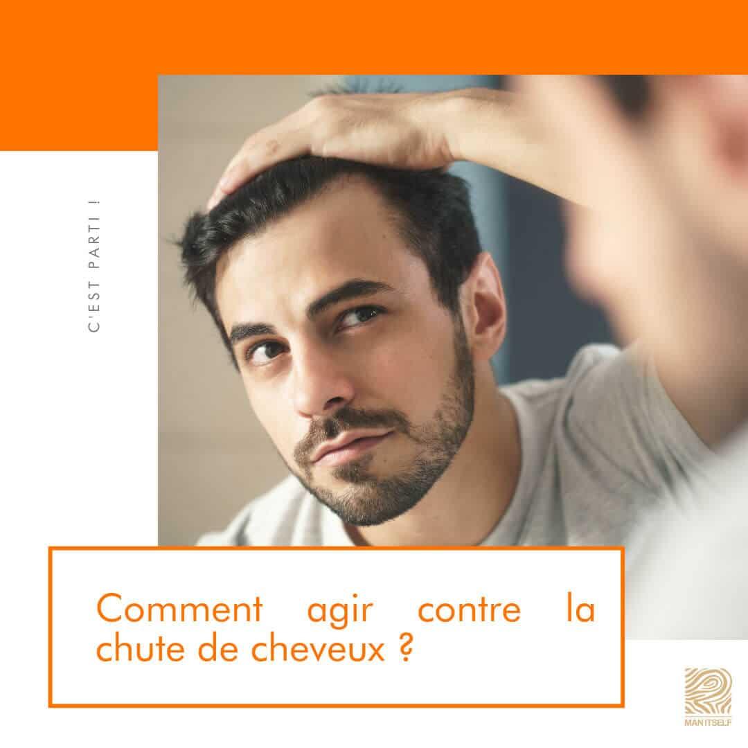 Comment agir contre la chute de cheveux 2 - MAN ITSELF - Spécialiste des produits de soin visage, rasage, corps, cheveux, bouche, accessoires et idées cadeaux homme