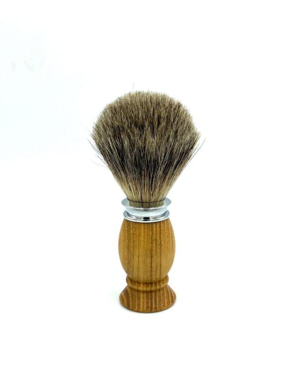 blaireau acacia - MAN ITSELF - Spécialiste des produits de soin visage, rasage, corps, cheveux, bouche, accessoires et idées cadeaux homme