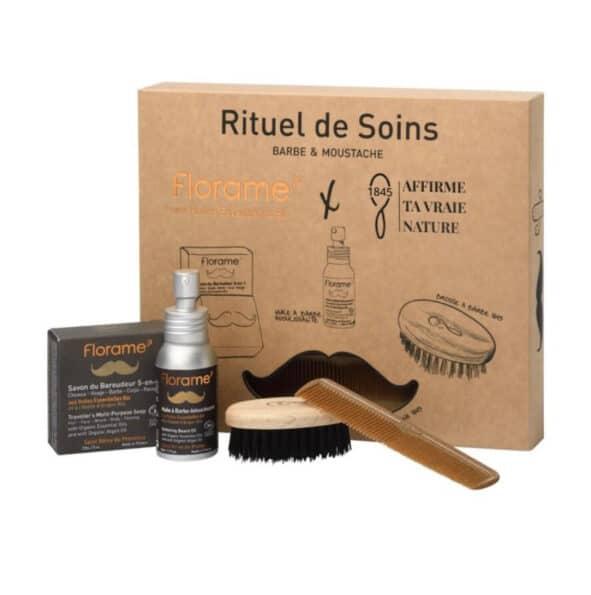 florame coffret barbe - MAN ITSELF - Spécialiste des produits de soin visage, rasage, corps, cheveux, bouche, accessoires et idées cadeaux homme
