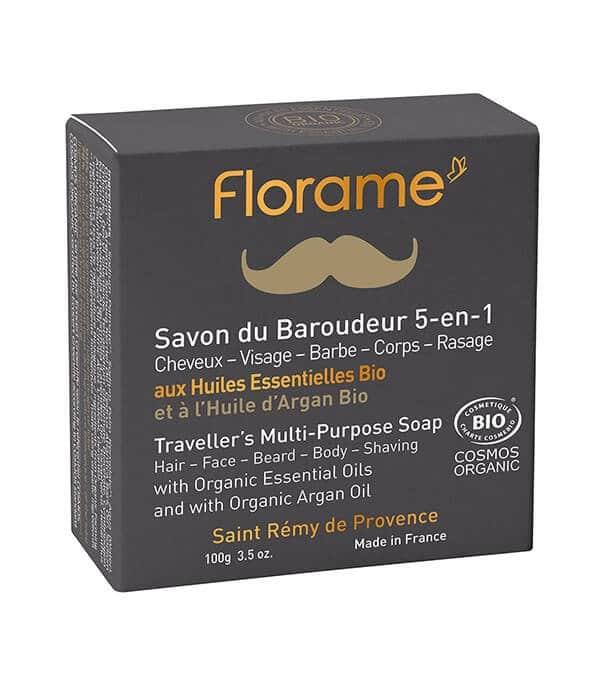 florame savon baroudeur - MAN ITSELF - Spécialiste des produits de soin visage, rasage, corps, cheveux, bouche, accessoires et idées cadeaux homme