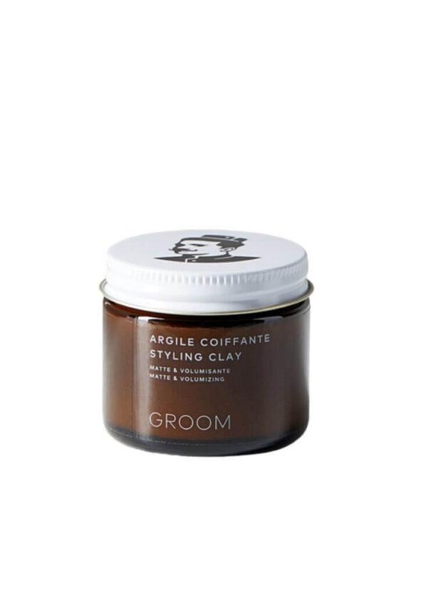 groom argile - MAN ITSELF - Spécialiste des produits de soin visage, rasage, corps, cheveux, bouche, accessoires et idées cadeaux homme