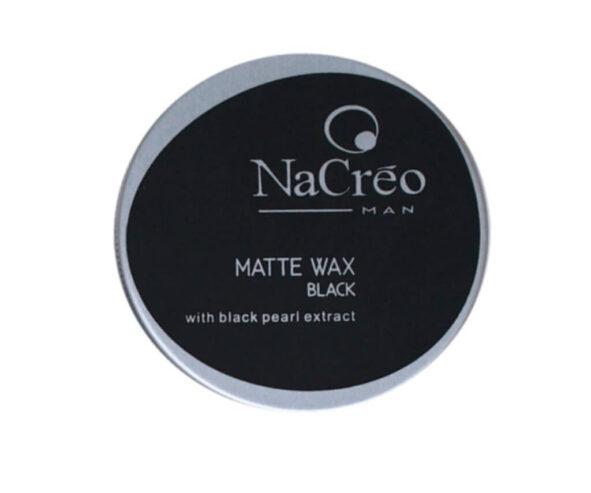 nacreo man matte wax black - MAN ITSELF - Spécialiste des produits de soin visage, rasage, corps, cheveux, bouche, accessoires et idées cadeaux homme