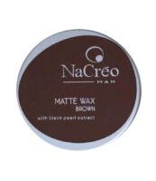 nacreo man matte wax brown - MAN ITSELF - Spécialiste des produits de soin visage, rasage, corps, cheveux, bouche, accessoires et idées cadeaux homme
