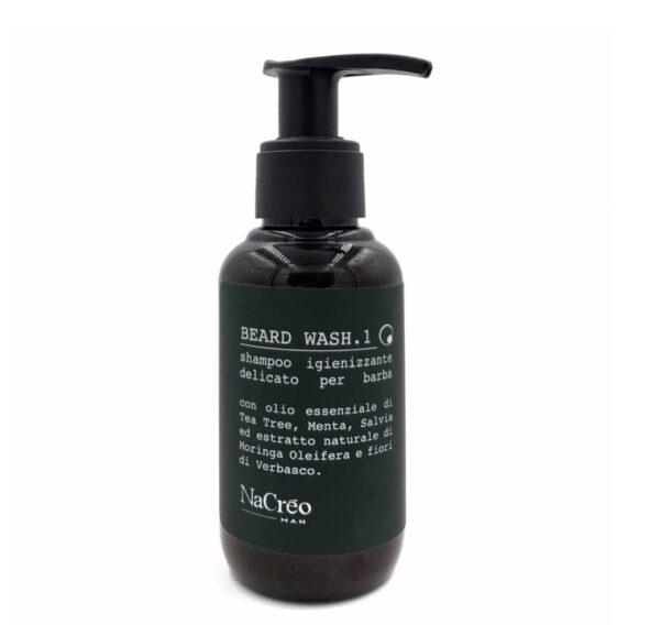 nacreo man shampoing barbe - MAN ITSELF - Spécialiste des produits de soin visage, rasage, corps, cheveux, bouche, accessoires et idées cadeaux homme