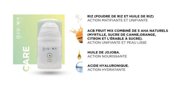 oju wa description care - MAN ITSELF - Spécialiste des produits de soin visage, rasage, corps, cheveux, bouche, accessoires et idées cadeaux homme