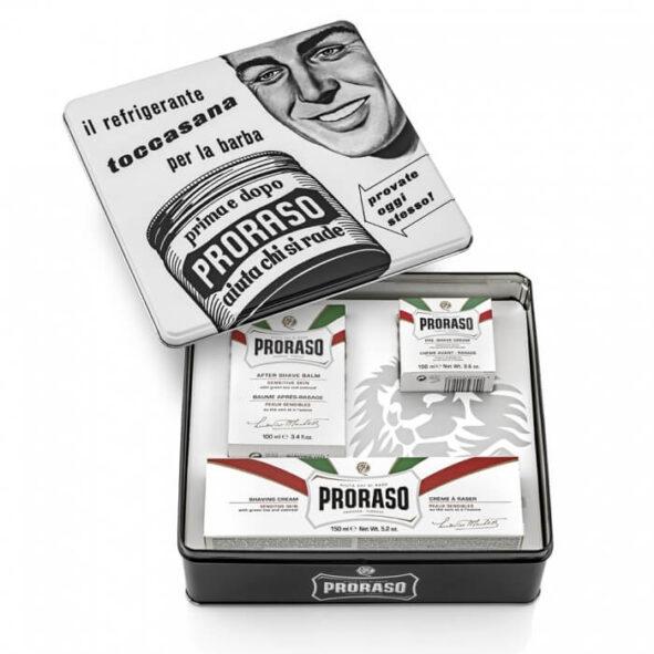 proraso coffret toscana - MAN ITSELF - Spécialiste des produits de soin visage, rasage, corps, cheveux, bouche, accessoires et idées cadeaux homme