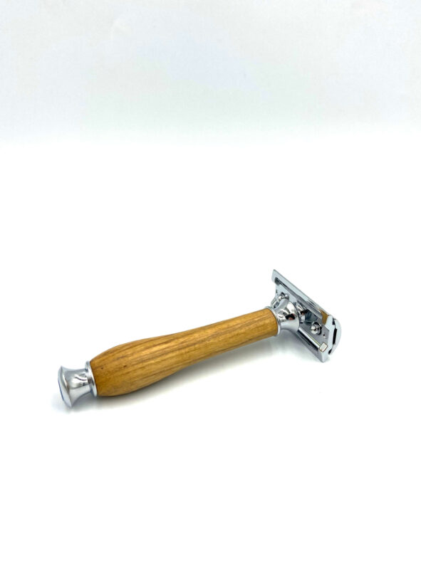 rasoir sûreté bois acacia