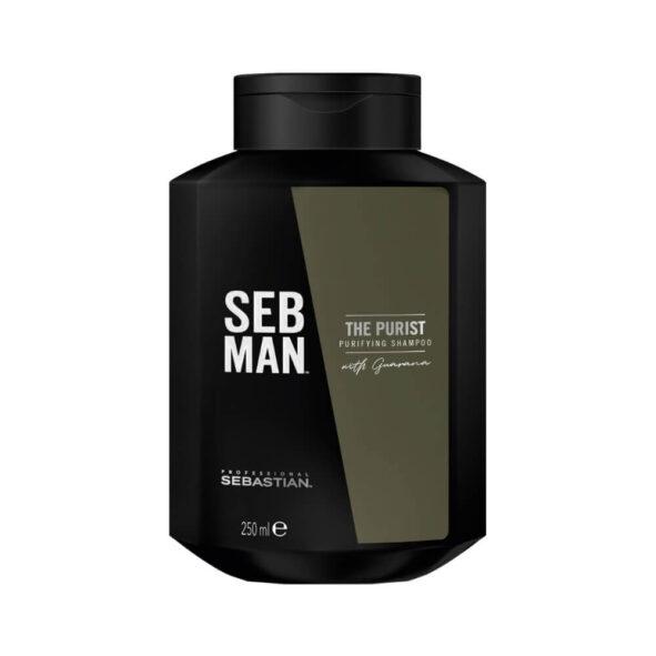 seb man the purist - MAN ITSELF - Spécialiste des produits de soin visage, rasage, corps, cheveux, bouche, accessoires et idées cadeaux homme