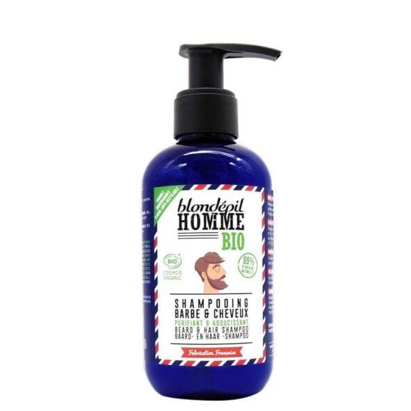 shampoing barbe blondepil 1 - MAN ITSELF - Spécialiste des produits de soin visage, rasage, corps, cheveux, bouche, accessoires et idées cadeaux homme