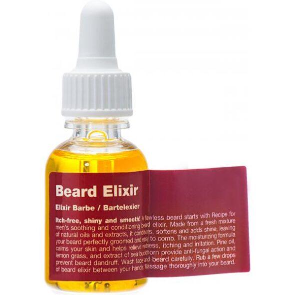 huile à barbe elixir recipe for men