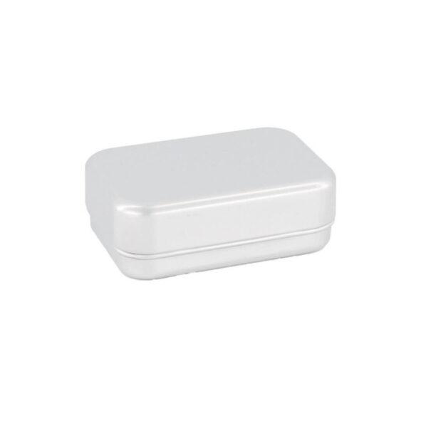 boite a savon aluminium le baigneur - MAN ITSELF - Spécialiste des produits de soin visage, rasage, corps, cheveux, bouche, accessoires et idées cadeaux homme