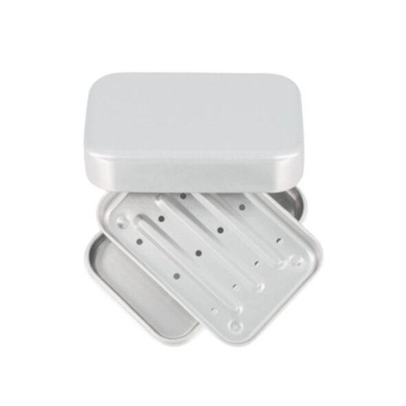 boite savon aluminium le baigneur - MAN ITSELF - Spécialiste des produits de soin visage, rasage, corps, cheveux, bouche, accessoires et idées cadeaux homme