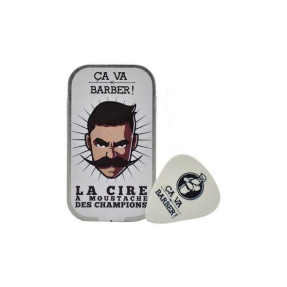 cire a moustache ca va barber - MAN ITSELF - Spécialiste des produits de soin visage, rasage, corps, cheveux, bouche, accessoires et idées cadeaux homme